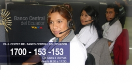 EL CONTACT CENTER DEL BANCO CENTRAL DEL ECUADOR INICIÓ SUS OPERACIONES